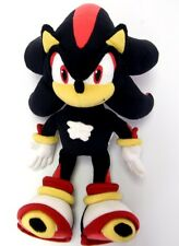 "NEW OFFICIAL 14"" SHADOW THE HEDGEHOG PLUSH SOFT TOY SONIC THE HEDGEHOG"
