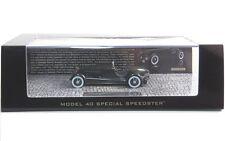 Edsel Ford Modello 40 SPEEDSTER PRIMA VERSIONE (nero) 1934
