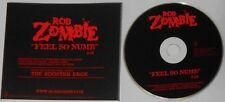 Rob Zombie  Feel So Numb  U.S. promo cd