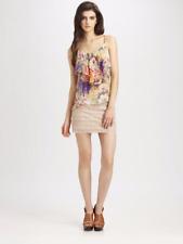 Haute Hippie Lace Mini Skirt MSRP$235 women's (size Small) Nude/Lightbrown SKIRT