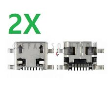 2X LG Tribute 5 K7 LS665 LS675 K330 MS330 Micro USB Charging Port Dock Connector