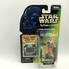 Star Wars POTF2/BIGGS DARKLIGHTER X-Wing Pilot Figure/Kenner 1997/Freeze Frame