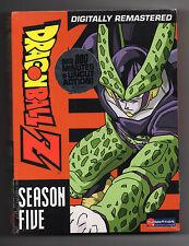 Dragon Ball Z - Season 5 (DVD, 2008, 6-Disc Set, Uncut Digipak)