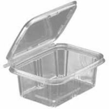 200 Pack To-Go Safe-T-Fresh Grab and Go Food Container, Tear Strip Lock, Perfect