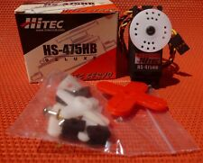 HITEC HS-475HB DELUXE BALL BEARING SERVO MODEL AIR PLANES