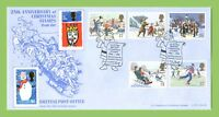 G.B. 1990 Christmas set on Official Bradbury First Day Cover, Bethlehem