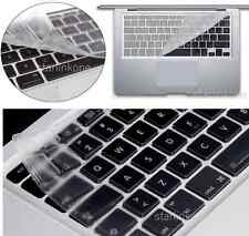 "Ultra Thin Clear  Silicone Keyboard Cover for Macbook Pro Retina Air 13"" 15"