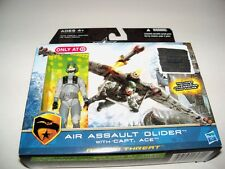 Retired GI JOE Target Excl Artic Threat AIR ASSAULT GLIDER + CAPTAIN ACE Figure