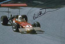 Richard Attwood Hand Signed 12x8 Photo F1.