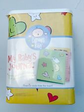 Curious Baby My Baby's Journal Kit Self-Design Arts & Craft Pastel Baby Shower