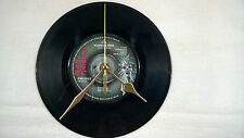 "IRON MAIDEN Running free 7"" Vinyle Horloge Murale Orig. Cat # EMI 5032"