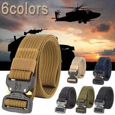 Herren Militär Outdoor Sports militärische taktische Nylon Bund Gürtel Mode Neu