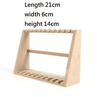 """1/6 Scale Wooden Gun Rifle Rack Display Stand 14cm for 12"""" Action Figure"""