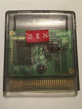 NINTENDO GAMEBOY COLOR GBC GAME CARTRIDGE ONLY GEX 3 DEEP COVER GECKO