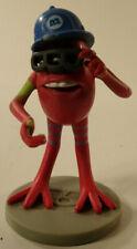 "2001 Fungus 2.5"" Red Monster PVC Action Figure Disney Pixar Monsters Inc"