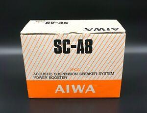 Retro Lautsprecher - AIWA SC-A8 - Power Booster, acoustic suspension - OVP