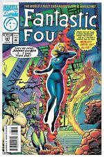 Fantastic Four 387 Signed Tom DeFalco Autographed Doctor Doom Namor Die-Cut