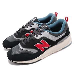 New Balance CM997HAI D Black Red White Men Running Casual Shoe Sneaker CM997HAID