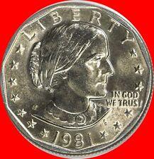 1981 P Susan B Anthony Dollar Choice/Gem Bu from mint sets No Reserve