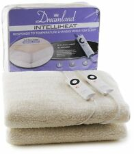 Dreamland Intelliheat Double Size With Dual Control Electric Heated Blanket