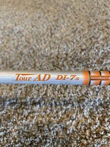 "Graphite Design Tour AD Di-7s Stiff Flex Fairway Wood Shaft PXG Adapter Winn 42"""