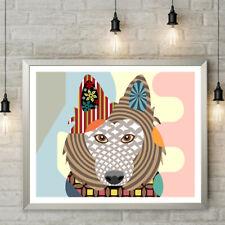 Belgian Sheepdog Pop Art Pet Animal Lover Print Puppy Decoration Painting