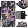KT 3D Pattern Strap Wallet Card Leather Case Cover Skin For MOTO Sony Iphone LG