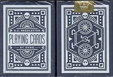 Wheel Blue Playing Cards Poker Size Deck USPCC DKNG Custom Limited Edition New