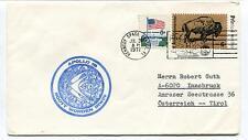 1971 Apollo 15 Scoot Worden Irwin Kennedy Space Center Tirol Space Cover