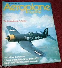 Aeroplane Monthly 1976 March Saab J29,USS JF Kennedy,Confederate Air Force