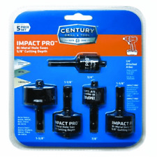 Century Drill Bi-Metal 5pc Impact Pro Hole Saw 05705 3/4