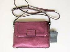 MARC BY MARC JACOBS METALLIC WINE ABBOTT & BLAZE CROSSBODY BAG - $198 RET.