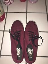 Maroon Lo Pro Authentic Vans