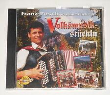 Franz Posch - CD - Volksmusik Stückln - Die Fidelen Inntaler - Familie Pedarnig