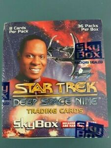 Star Trek Deep Space Nine Trading Cards 1993 by SKYBOX. Factory Sealed. RARE!!!