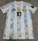 2020/21 Argentina Copa America 2021 Champions Winners Final Shirt MESSI 10. L