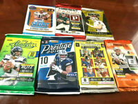 2018 (7 PACK LOT) ABSOLUTE CONTENDERS PRESTIGE LEAF+ MAYFIELD, BARKLEY ROOKIE RC