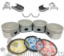 01-05 HONDA CIVIC 1.7L D17A D17A2 D17A8 PISTONS + RINGS KIT ENGINE BEARINGS SET