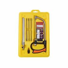 Multi-function 8 in 1 Magic Hand Saw 6 Model Blades Kit for DIY Metal Wood Glass