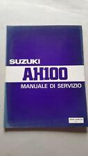 SUZUKI AH 100 Scooter  manuale officina originale ITALIANO workshop manual