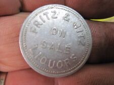 CHISHOLM MINNESOTA GOOD FOR 25c IN TRADE TOKEN MN MERCHANTS FRITZ & JITZ MINN