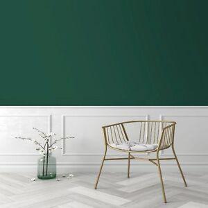 Superfresco Easy Dark Green Elegant Plain Wallpaper
