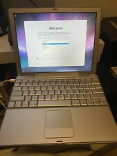 "Apple Powerbook G4 12"" 1.5ghz 2005 Fresh 10.5 Leopard Install + More"