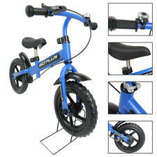 """12"""" Blue Kids Bike Bicycle Children Boys & Girls with Brakes and Bell Exercise"""