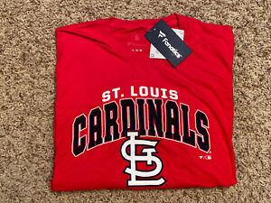 NWT St. Louis Cardinals MLB Men's Red Fanatics T-Shirt Size XL New With Tags