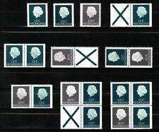 Nederland Stockkaart Combinaties uit Postzegelboekjes 7 Postfris