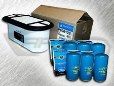 7.3L TURBO DIESEL OVAL AIR FILTER & 6 OIL FILTERS - REPLACES FA1757