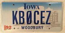 HAM RADIO KB0CEZ license plate Amateur Operator Call Sign Signal Lee Relay ARRL