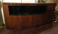 Antique/Art Deco French Executive Fruitwood Desk/Curved Design/Restored