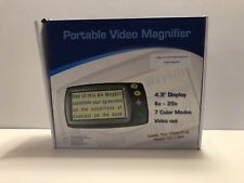 Portable Video Magnifier Oasis Scientific 4.3 Low Vision Aid